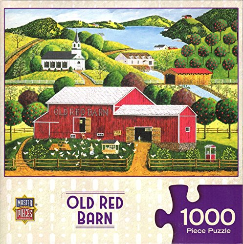 Old Red Barn By Art Poulin 1000 Piece Puzzle