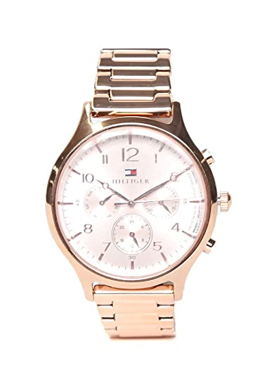Amazon.com: Tommy HilfigerLadies Analog Rose Gold Business Quartz Tommy Hilfiger Emmy 1781873: Watches