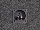 Scosche SE102CC 10-Inch Dual Subwoofer Enclosure (Grey/Black)
