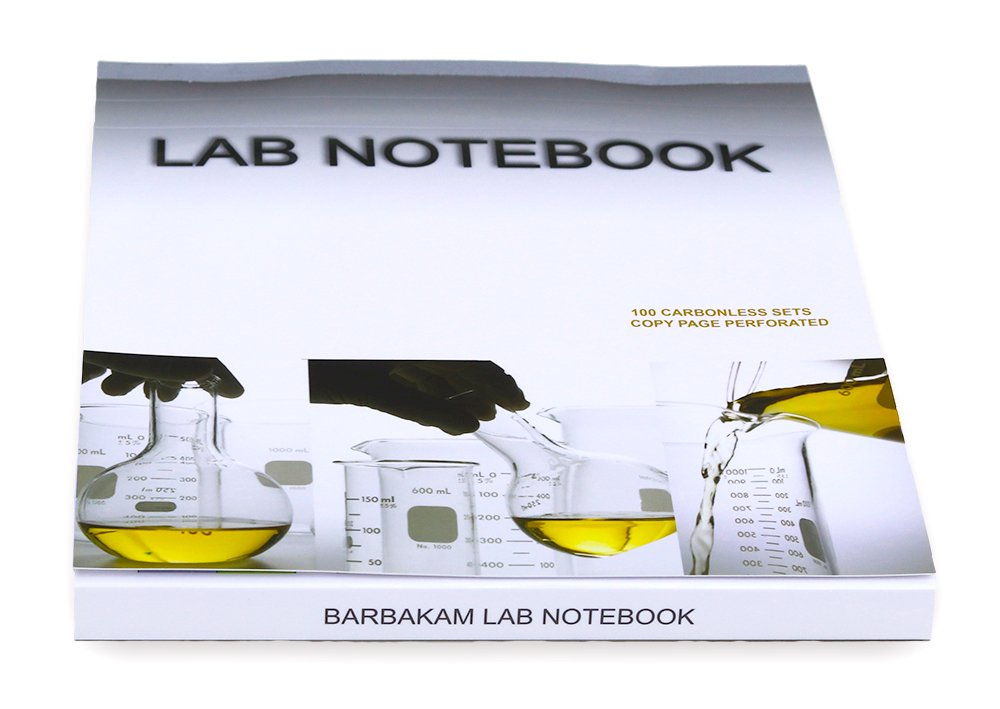 Lab Notebook 100 Carbonless Pages Permanent Top Bound (Copy Page Perforated) pdf