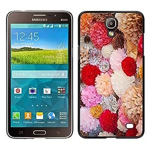 LECELL--Funda protectora / Cubierta / Piel For Samsung Galaxy Mega 2 -- Flores de la primavera Ramo de San Valentín de campo --