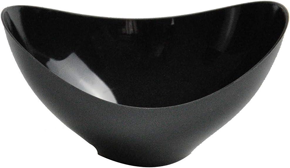 7,6/x 4,5/cm 81884/50/pcs Dia Plastique Noir Mini Bols jetables//plastique bols