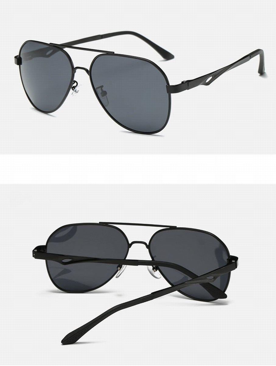 sonnenbrillen herren polarisierte sonnenbrille classic Große rahmen umbrella Spiegel sonnenbrillen fahrbrillen pistole rahmen blau Quecksilber 6VGKS7cv