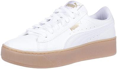 Nouvelles Arrivées ea70e c5cc9 Amazon.com | PUMA Women's Vikky Platform VT Sneaker, White ...