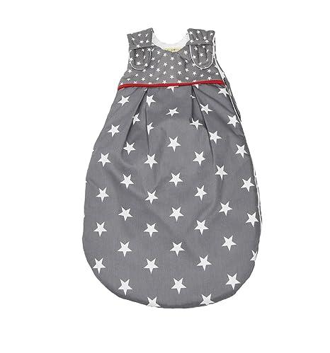 Picos Aerosleep – Saco de dormir para bebé estrellas gris gris gris Talla:74/