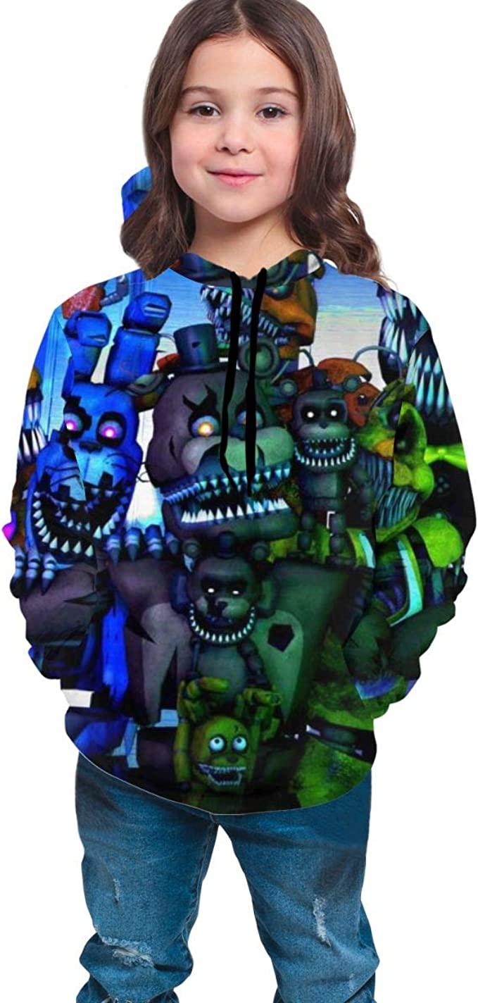 Five Nights at Freddys Sister Youth Hoodies Kids Hooded Sweatshirt
