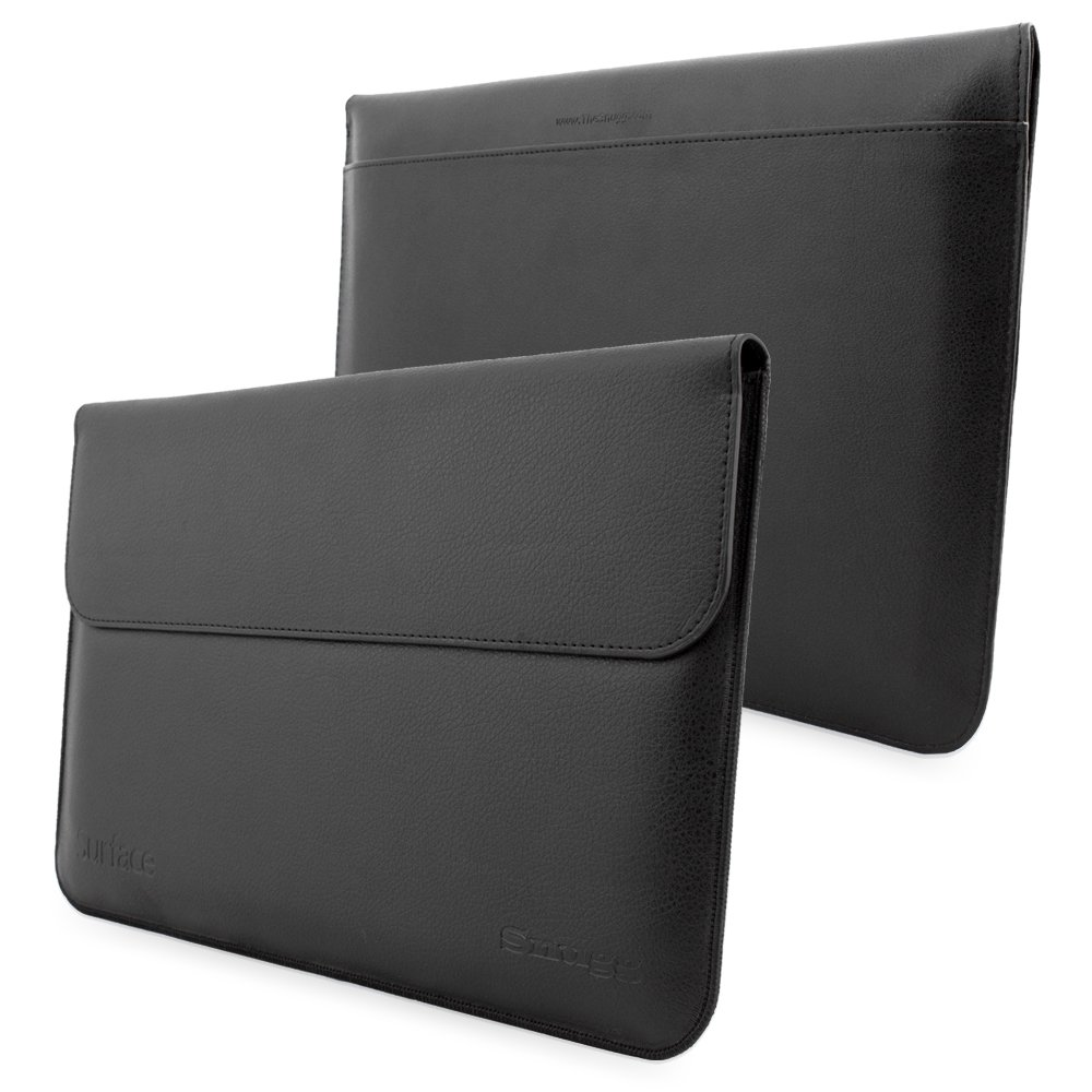 Top 10 microsoft surface pro 3 cases covers best microsoft surface pro - Surface Pro Pro 4 And Pro 3 Sleeve Snugg Black Leather Sleeve Case Lifetime Guarantee Protective Cover For Surface Pro Pro 4 And Pro 3 Amazon Co Uk