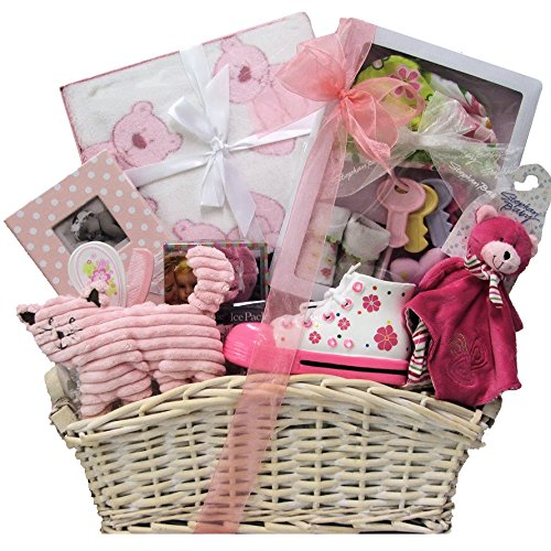 Great Arrivals Baby Gift Basket, Beautiful Baby Girl