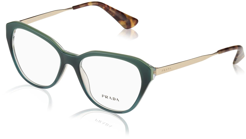 Prada Sonnenbrille 28svframe_ufu1o1 (52 Mm) Green Gradient, 52