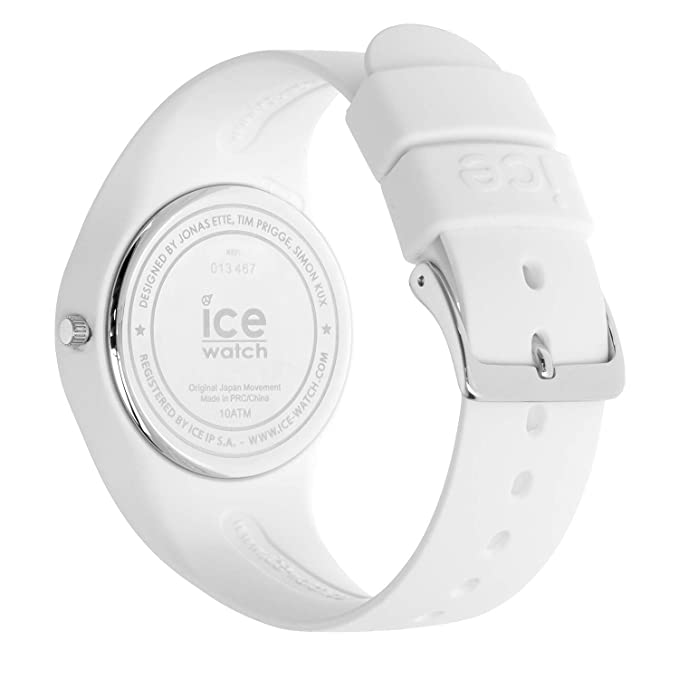 Amazon.com: Ice-Watch ICE LO White Turquoise 013430 Medium Unisex Watch: Watches