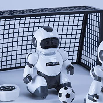 Juguetrónica JUG0324 Soccerbot Arena, Blanco , color/modelo ...