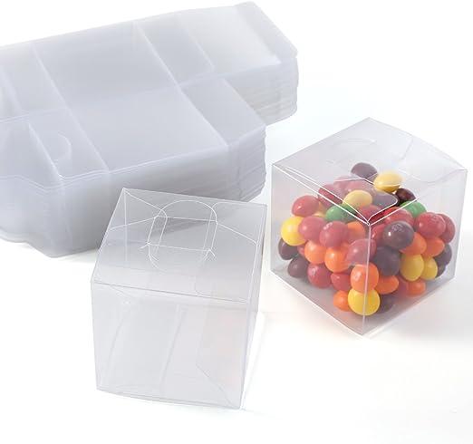 Set de 50/100 Cajas para dulces bombones Cajita cuadrada ...
