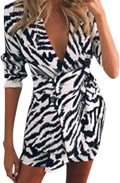 STRIR Mujer Blazer Traje De Chaqueta Ropa Trabajo Outwear Mujer OL Americana Slim Fit Camisa Negocios Abrigo Solapa Manga Larga Casual: Amazon.es: Ropa y accesorios