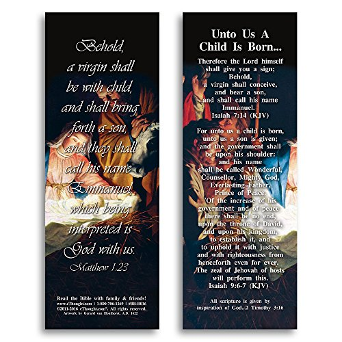 (Unto Us a Child Is Born - Pack of 25 Cards - 2
