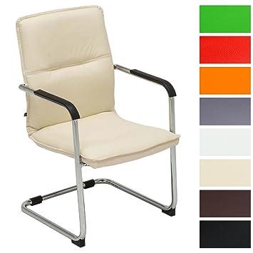 Freischwinger Stühle Mit Armlehne clp freischwinger stuhl mit armlehne seattle besucherstuhl