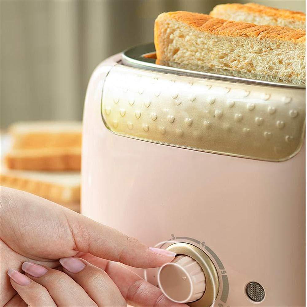 Tostadora casera máquina de pan multifunción 2 tostadoras ...
