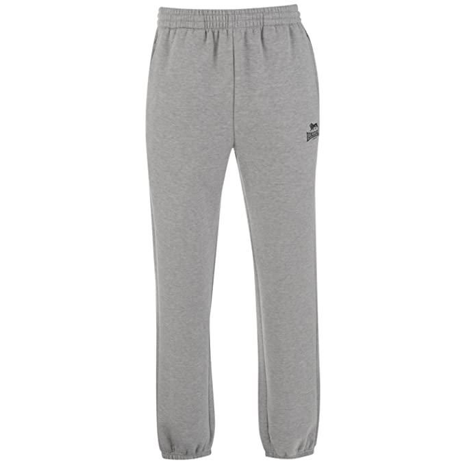 Lonsdale Hombre Polymarl Pantalones Deportivos Joggers