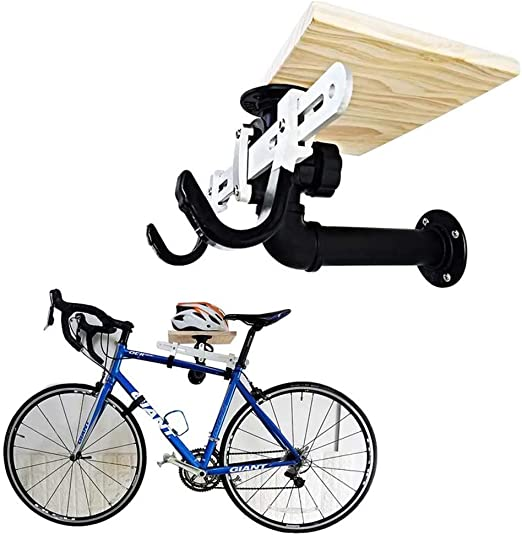 JXS-Outdoor Soporte de Pared para Guardar Bicicletas - Madera ...
