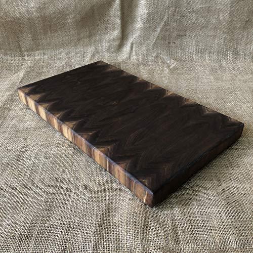 (Black Walnut End Grain Cutting Board)