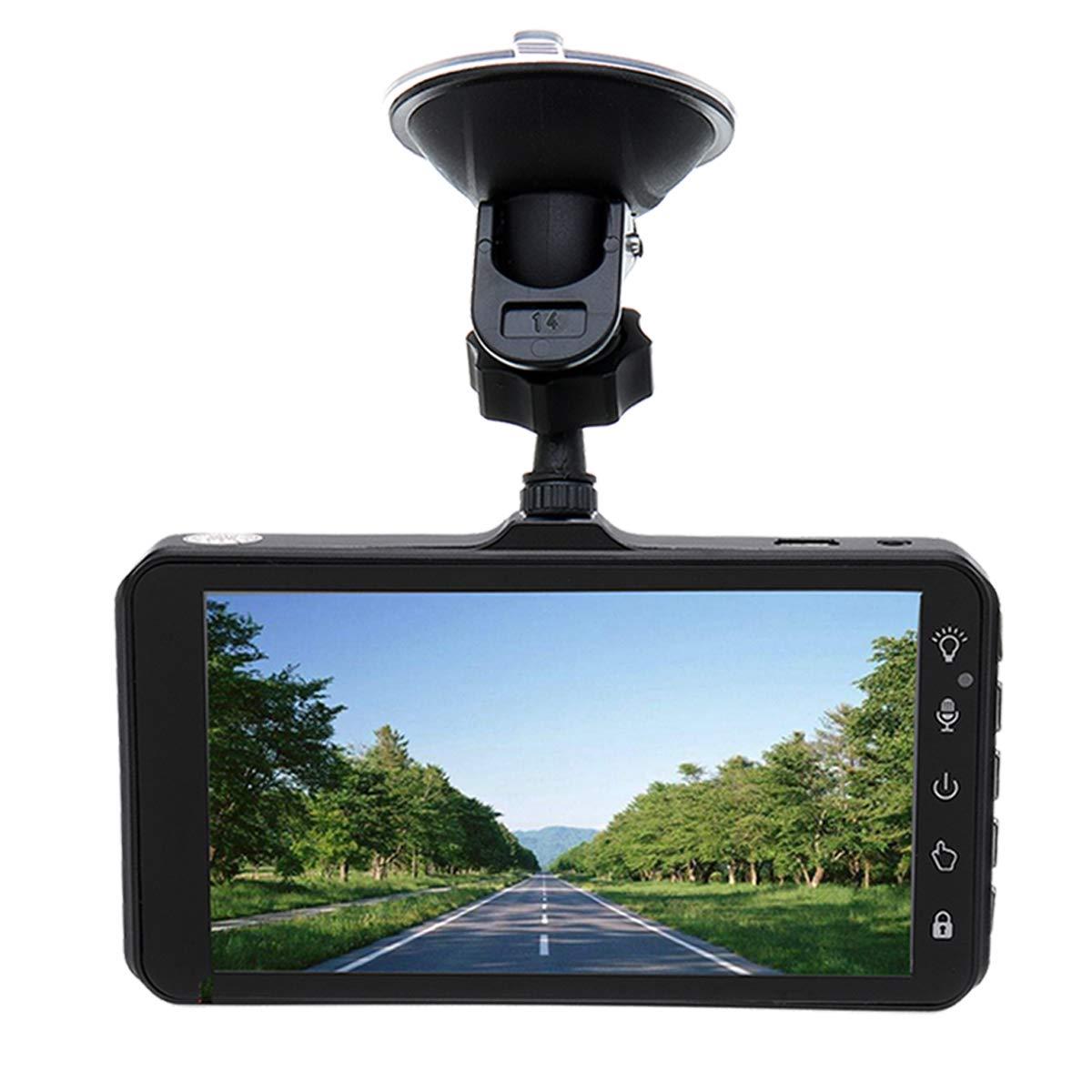 FeLiCia Volles HD 1440P 4 Zoll LCD Touch Screen 1080P Nachsicht-Auto Dvr Für Auto-Fahrzeug