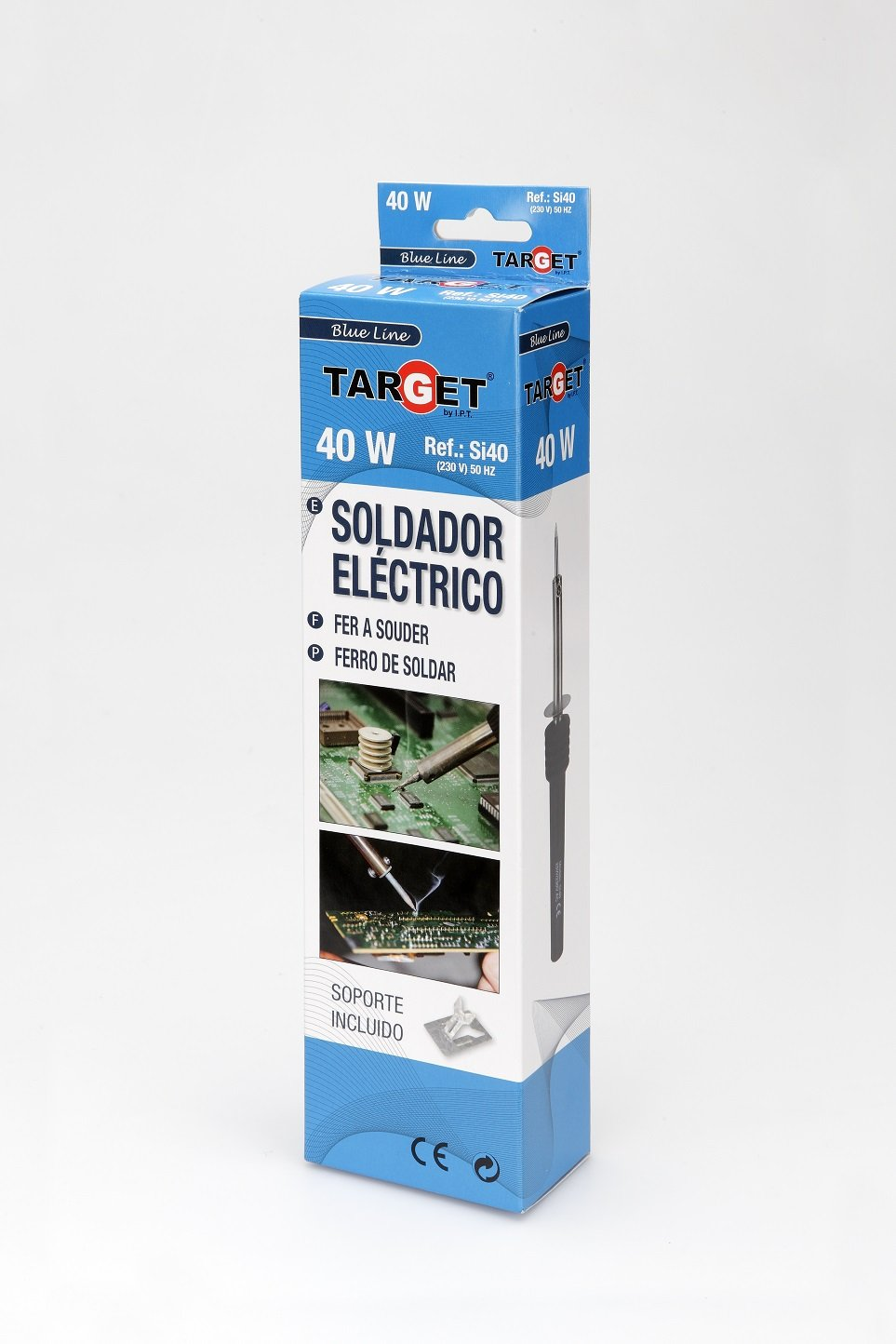 Target SI40 - Soldador De Lapiz Electronica 40.W: Amazon.es: Industria, empresas y ciencia