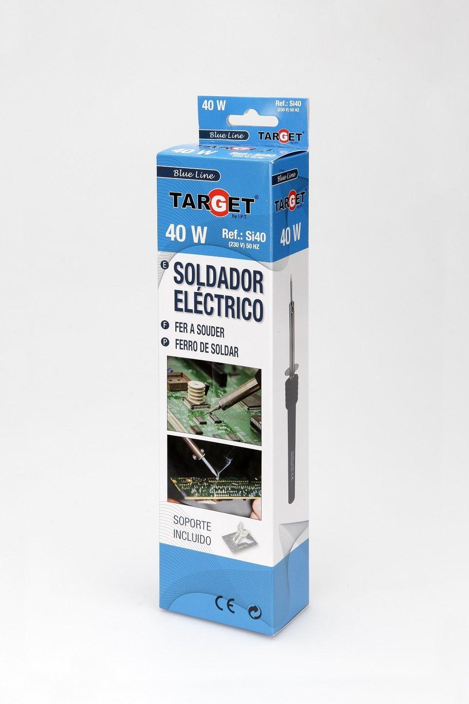 Target SI40 - Soldador De Lapiz Electronica 40.W: Amazon.es: Industria, empresas y ciencia