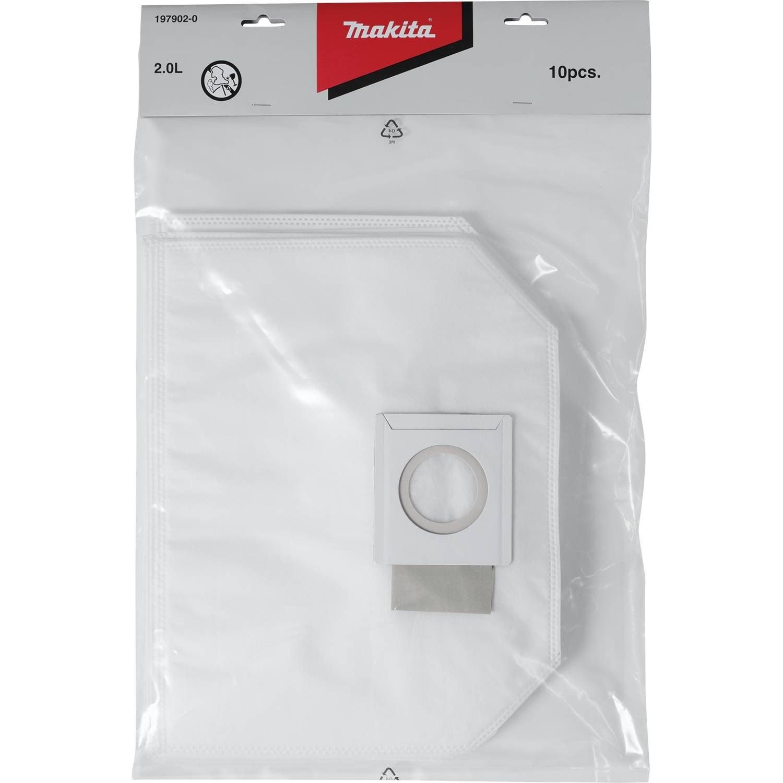 fddef1a0a3fa Makita 197902-0 Filter Dust Bag (10 Pack) - - Amazon.com