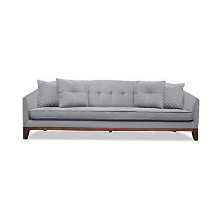 Amazon.com: South Cone Home LOITUFSOF72/GREY Lois Tufted ...