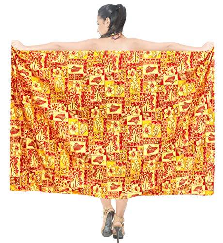 involucro costumi LA pannello bagno di da costume sarong Rosso esterno coprire beachwear vestito LEELA pareo di donne s21 bagno del wOrqIwY