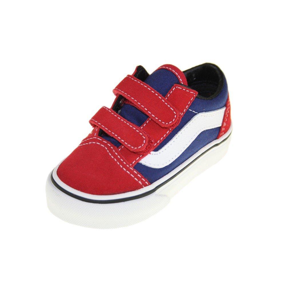 SPORTS SHOE BLACK VANS OLD SKOOL D3YBLK B00CEDU6SC 11 Child UK Multicoloured (Red/Blue/White) Multicoloured (Red/Blue/White) 11 Child UK, 仙台市 4b4a39d9