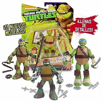 Tortugas Ninja Fig.Battle Shell srt19x23: Amazon.es ...