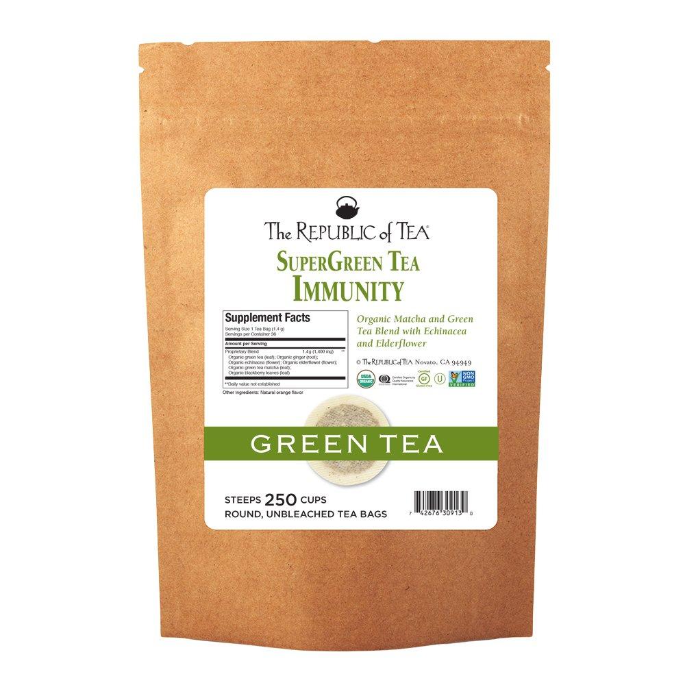 Blend gourmet herbal tea - Amazon Com The Republic Of Tea Serenity Supergreen Tea Matcha And Tulsi Tea Blend Caffeinated 36 Tea Bags Grocery Gourmet Food
