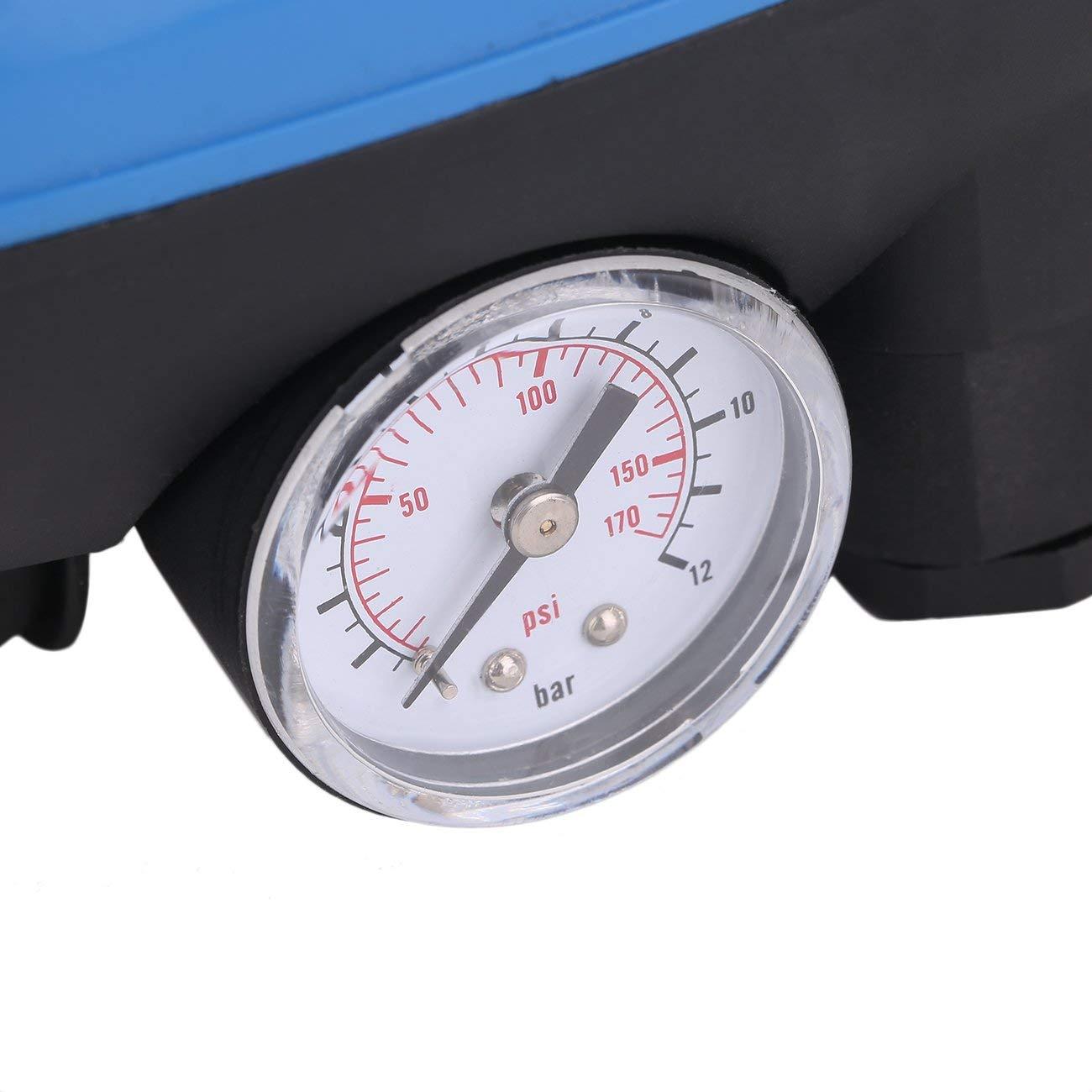 Elviray SKD-5 Regolatore di Pressione con pressostato elettronico per Pompa dellAcqua Professionale con manometro