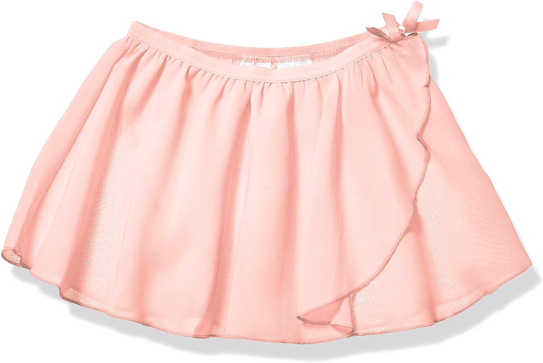 Essentials Big Girls Dance Faux-wrap Skirt