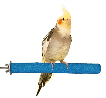 Cage Natural Looking Multi Branch Wood Perch for Large Pet Birds Enclosure