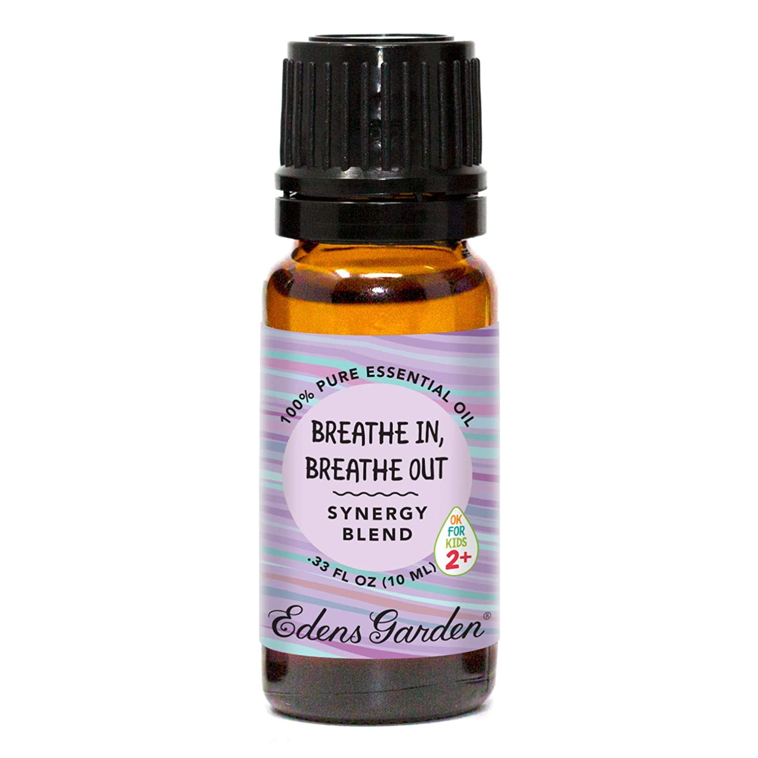 "Edens Garden Breathe In, Breathe Out""OK For Kids"" Essential Oil Synergy Blend, 100% Pure Therapeutic Grade (Child Safe 2+, Allergies & Congestion), 10 ml"