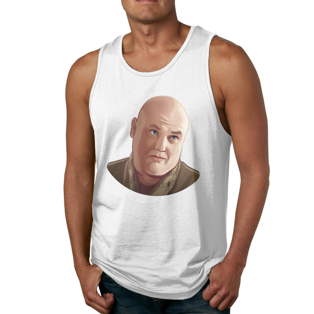 Mens Tank Tops Thrones Fun Shirts Summer Fun Tees Muscle T Shirt Top