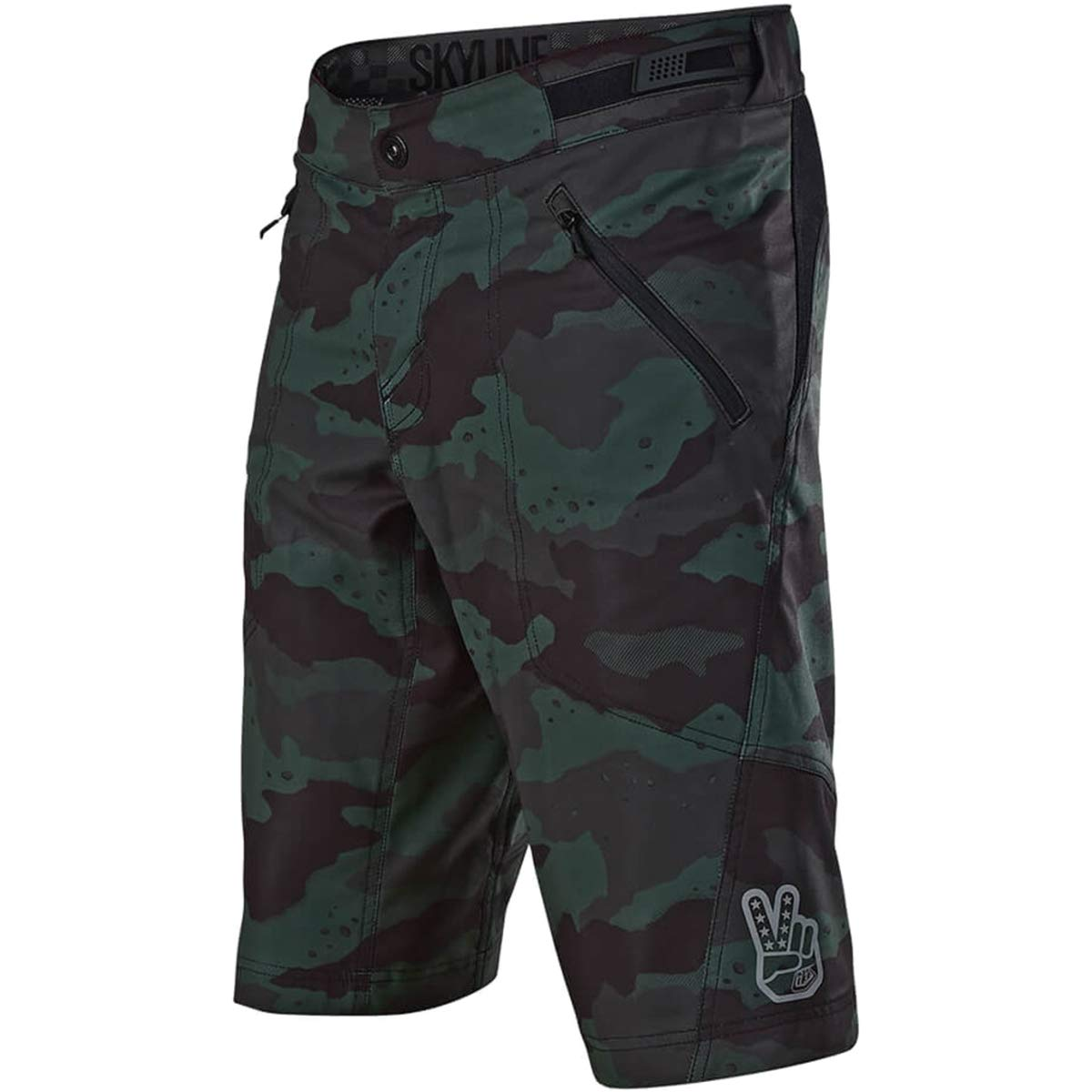 Troy Lee Designs Skyline Short Shell - Men's Camo Stealth, 32 by Troy Lee Designs