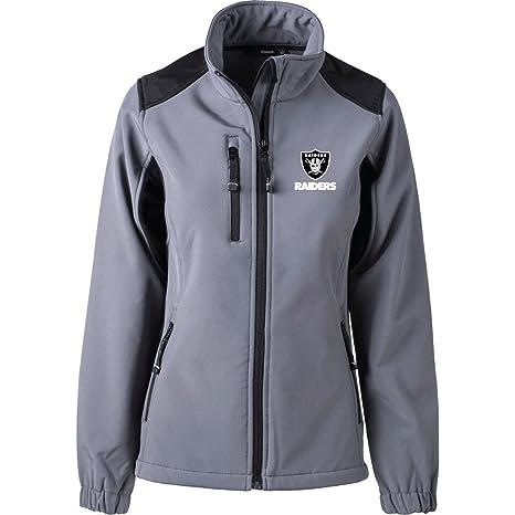 Amazon.com   Dunbrooke Apparel NFL Oakland Raiders Women s Softshell ... d593207ec