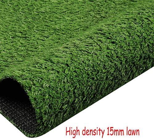 XEWNEG 15MM高密度ガーデン人工ターフ、防水グリーン多機能フェイク芝生ペットマットは、屋根ウォール保育園の装飾、幅2メートルの場合は、カットすることができます (Size : 2x2M)