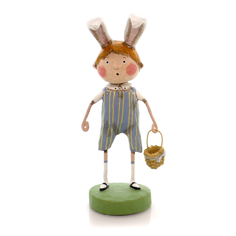 Lori Mitchell BREWSTER WILLIAMS Polyresin Bunny Ears Basket 11002 ESC Trading Company