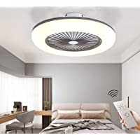 CAGYMJ Ventilador De Techo con Iluminación Ventilador De Techo LED Luz Velocidad del…