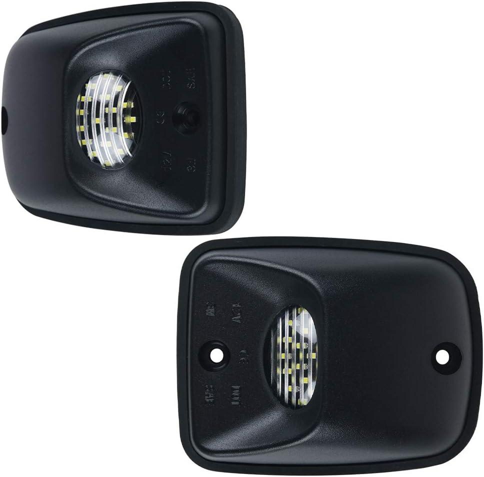 Pack of 2 MOFORKIT LED License Plate Light Lamp Assembly For 1995-2004 Toyota Tacoma Pickup Truck 6000K Dimond White