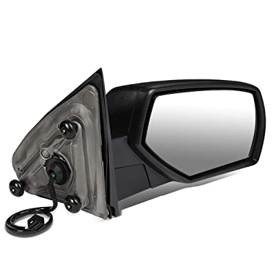 DNA Motoring TWM-050-T111-BK-R Right Side Powered+Heated Rear View Towing Mirror: Automotive