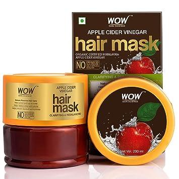WOW Skin Science Apple Cider Vinegar Hair Mask with Apple Cider