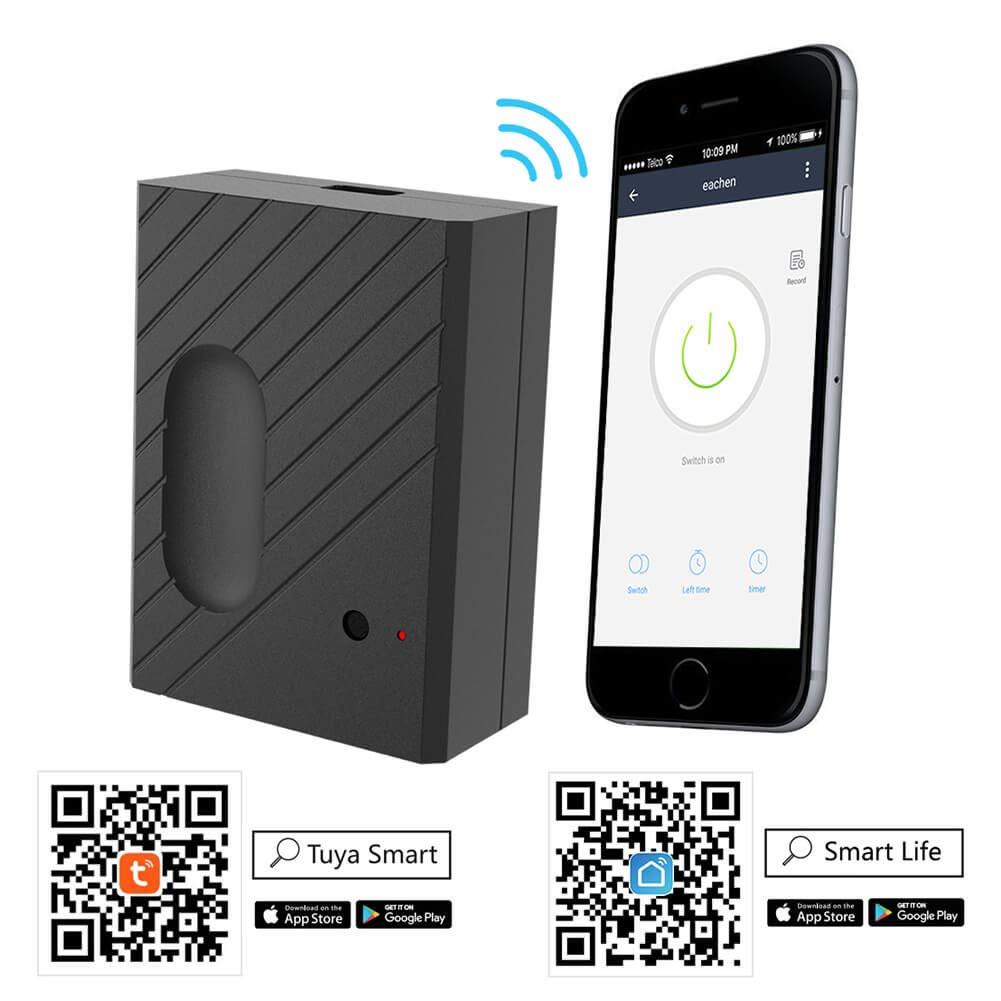 EACHEN Wireless Smart Home Garage Door Opener WiFi Remote Controller Works  With TUYA Smart Life App Alexa Google Home IFTTT GD-DC5