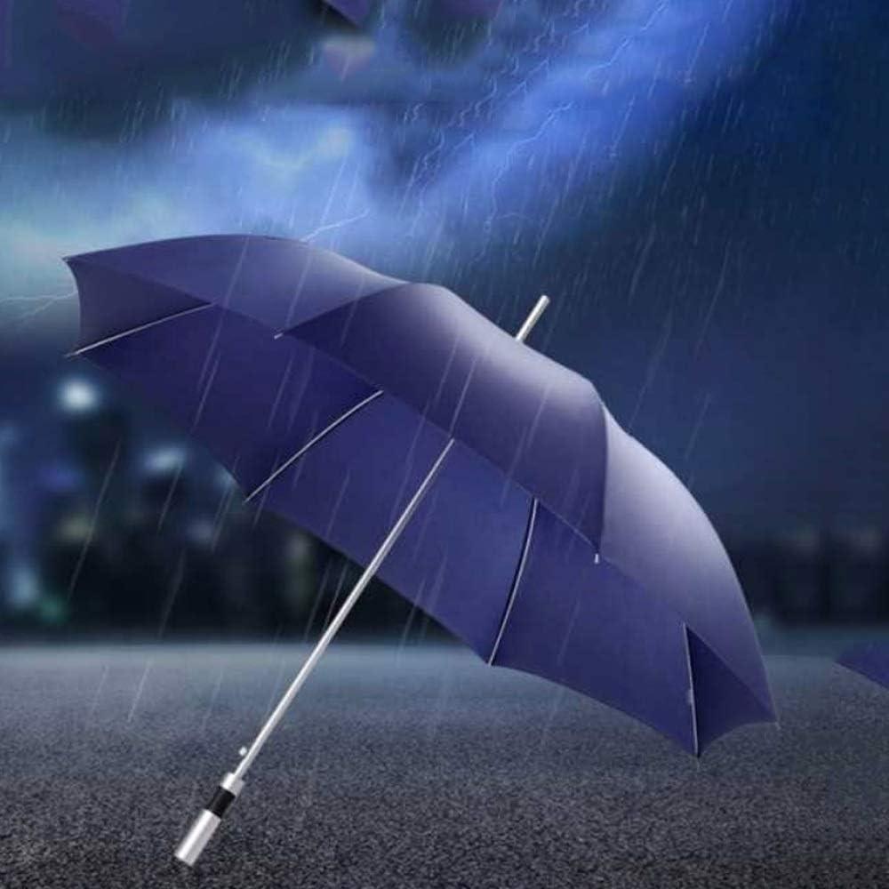 Color : Black Windproof UV Protection Big Straight Umbrella Wuzhongdian Sun Umbrella,Foldable,Sunscreen Coating