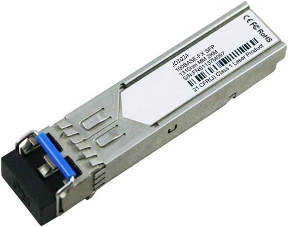 LODFIBER JD102A HPE Compatible 100BASE-FX SFP 1310nm 2km DOM Transceiver