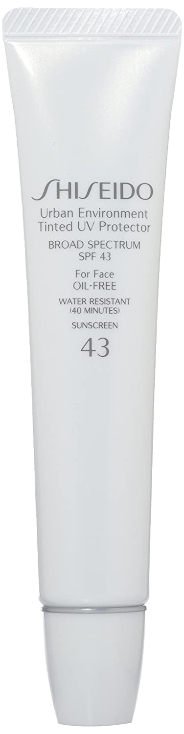 Shiseido Urban Environment Tinted UV SPF 43 Protector Broad Spectrum for Face, No. 2, 1.10 Ounce, U-SC-3798 730852105324