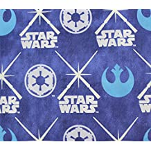 100% Cotton Fabric Quilt Prints Star Wars Glow in the Dark Licensed Sold By The Yard N-Cotton-88-OT